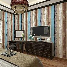 Wapea Holz Farbe Tapete Clothing Store Bar Restaurant Einen Stripe Pvc C