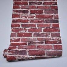 Wapea Personalisierte Backstein Tapete Nostalgischen Alten Tapeten Wohnzimmer Hintergrund Mauer Internet Cafe C
