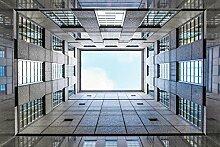 Wapel 3D-Druck Vorhänge Lebensechte Hd-Visuelle 3D-Genuss Vorhänge Schlafzimmer Wohnzimmer Sonnenschutz Fenster Vorhang 240X260CM