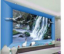 Wapel 3D Tapete Für Raum Wasserfall Wohnzimmer