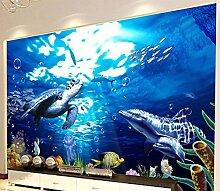 Wapel 3D Tapete Für Wohnzimmer Unterwasserwelt