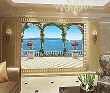 Wapel 3D Tapete Für Zimmer Im Mediterranen Balkon