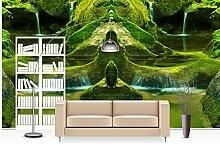 Wapel 3D-Wandtapete Tapeten Für Wohnzimmer Grün