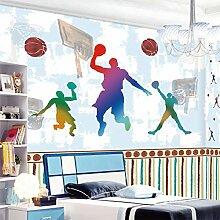 Wapel Cartoon Kinder- Schlafzimmer Tapete, einfache Umweltschutz, rahmenlose Hintergrund Wand 100 X 100 Cm