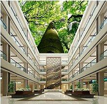 Wapel Fototapete Tapete 3D Fantasy Baum Taube