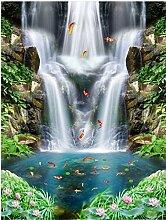 Wapel Hd Creek fließt mehr als jedes Jahr Landschaft Gemälde, 200 X 140 Cm
