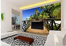 Wapel Home Dekoration 3D Tapete Für Holz Brücke