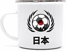 Wappen Soccer Fussball WM Fanfest Metalltasse