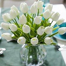 WAQIA HOUSE 30 Stück künstliche Tulpenblumen