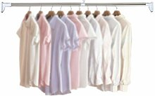 Wardrobe clothes pole Kleiderstange Teleskopstange
