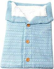 Warm Babydecke weiche Baby-Schlafsack Fußsack