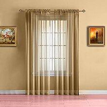 Warm Home Designs Gardinen für Fenster, extra