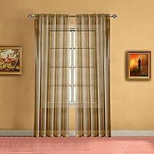 Warm Home Designs Gardinen für Fenster,