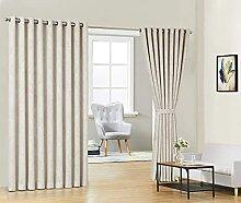 Warm Home Designs Raumteiler, 274 x 274 cm, Beige,