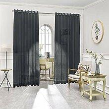 Warm Home Designs Raumteiler-Vorhänge mit 2