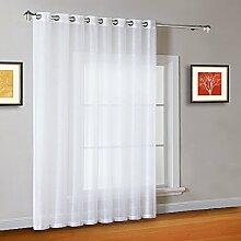 Warm Home Designs Terrassen-Vorhang, extra breit,