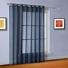 Warm Home Designs Transparente Fenstervorhänge