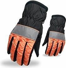 Warm Wasserabweisend Männer Und Frauen Sanitär Reflektieren Reiten Klettern Klettern Dünnschnitt Handschuhe
