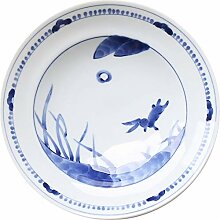 Warm zjyhpm Chinesisches Retro- Blaue Farbe Blaues