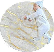 WARMFM Marmordruck Kinder Spielplatz Teppich