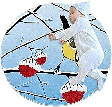 WARMFM Wintermeise Kinder Spielplatz Teppich