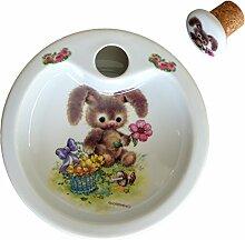 Warmhalteteller Hase - Reutter Porzellan - Keramik