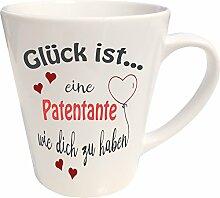 WarmherzIch Latte Tasse Glück ist… Patentante