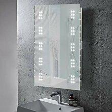 Warmiehomy Beschlagfreier Badspiegel mit LED