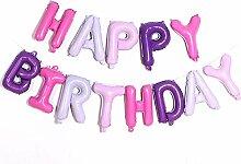 Warmiehomy Geburtstag Luftballons, geburtstagsdeko