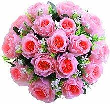 Warmiehomy Rosen Blumenstrauß, Künstliche Blumen