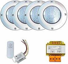 Warmpool LED-Einbaustrahler, RGB, EIN/Aus, 15 W,