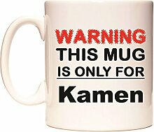 WARNING THIS MUG IS ONLY FOR Kamen Becher von