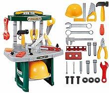 Warooma Kinder-Spielzeug-Set, Spielzeug-Werkbank,