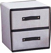 Waschbare faltbare Aufbewahrungsbox Schubladentyp