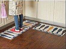 Waschbarer Küchenboden Teppich rutschfeste