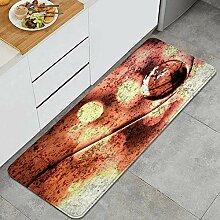 Waschbarer Küchenteppich,Abstrakter Hintergrund