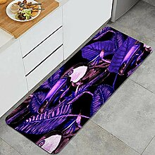 Waschbarer Küchenteppich,Aquarell oucan