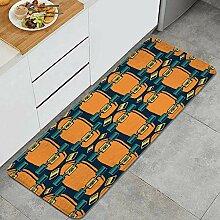 Waschbarer Küchenteppich,Bild von Longboard zur