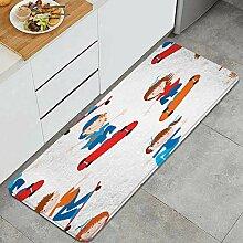 Waschbarer Küchenteppich,Hintergrund der