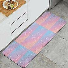 Waschbarer Küchenteppich,Liebe Dich selbst -
