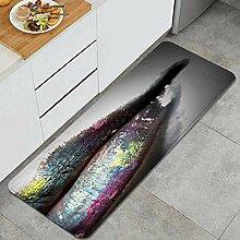 Waschbarer Küchenteppich,Mehrfarbiger
