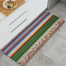 Waschbarer Küchenteppich,Mexikanischer