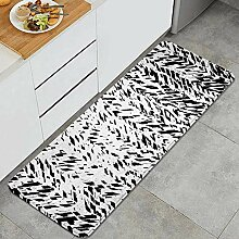 Waschbarer Küchenteppich,monochromes