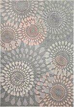 Waschbarer Teppich Manu, grau (45/90 cm)