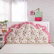 Waschbares Kissen, Bed Back Pad Bedside Soft Wrap Triangle Kissen Bett Abdeckung kann abnehmbar und waschbar , Kern enthalten ( Farbe : 19 , größe : 180*70cm )