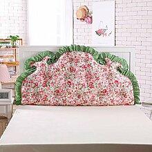 Waschbares Kissen, Bed Back Pad Bedside Soft Wrap Triangle Kissen Bett Abdeckung kann abnehmbar und waschbar , Kern enthalten ( Farbe : 12 , größe : 120*70cm )