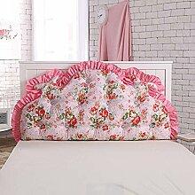 Waschbares Kissen, Bed Back Pad Bedside Soft Wrap Triangle Kissen Bett Abdeckung kann abnehmbar und waschbar , Kern enthalten ( Farbe : 15 , größe : 120*70cm )