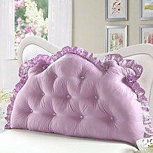 Waschbares Kissen, Bed Back Pad Bedside Soft Wrap Triangle Kissen Bett Abdeckung kann abnehmbar und waschbar , Kern enthalten ( Farbe : 7 , größe : 180*70cm )