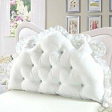 Waschbares Kissen, Bed Back Pad Bedside Soft Wrap Triangle Kissen Bett Abdeckung kann abnehmbar und waschbar , Kern enthalten ( Farbe : 23 , größe : 150*70cm )