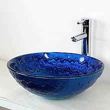 Waschbecken, Antike Silber rund Waschbecken aus